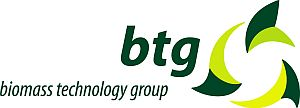 BTG logo color and text